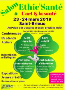 artsREunis au salon Ethic'Santé à SaintBrieuc
